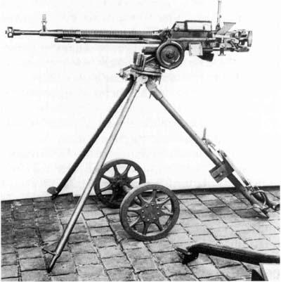 Пулемет ДШК был принят на